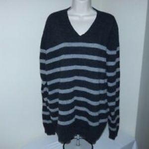 Men's BLUE PRONTO UOMO Size XXL V-neck Sweater
